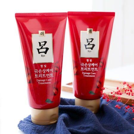 韓國 呂 Ryoe 山茶花修護潤澤護髮膜 300ml 紅瓶 染燙受損專用 護髮膜 護髮 護髮霜