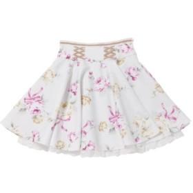 (LODISPOTTO/ロディスポット)Melty Roseスカート/mille fille closet/レディース シロ