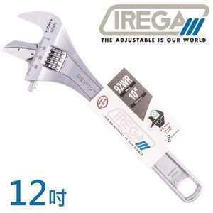 【IREGA】92WR管鉗兩用活動板手-12吋