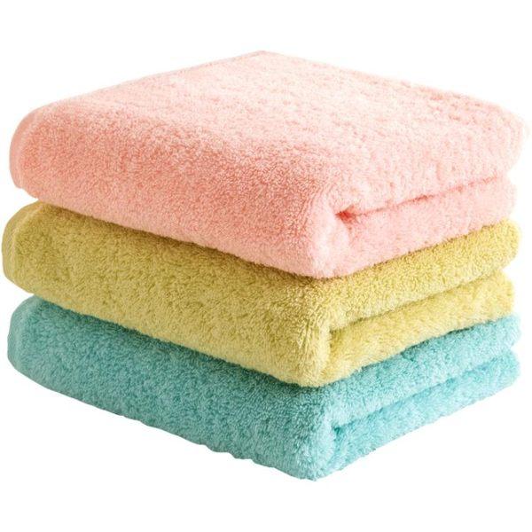 毛巾 uchino內野純棉毛巾A類無捻紗全棉面巾成人兒童家用情侶洗臉巾 茱莉亞