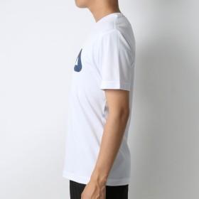 Tシャツ - MARUKAWA フィラ Tシャツ メンズ 夏 吸水速乾 UVカット 半袖 ホワイト/グレー/ブラック/ネイビー M/L/LL【 ティーシャツラッシュガード 水着 UV対策 速乾 ドライ 海 プール スポーツ トレーニング ランニング】