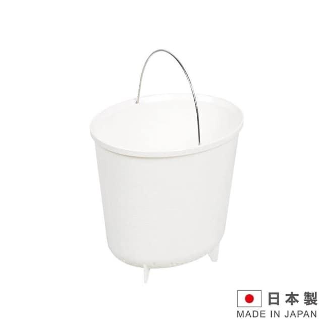 MODURE 日本製 桌上型廚餘桶-白 SAN-HB2508