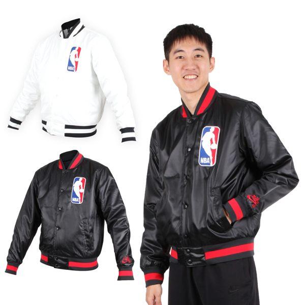 NIKE 男NBA防風棒球外套 (免運 風衣外套 籃球 保暖外套 鋪棉≡排汗專家≡
