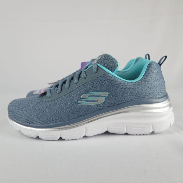 【iSport愛運動】Skechers FASHION- FIF - BOLD 健走鞋 正品 12719SLT 綠 女款