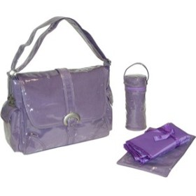 Kalencom カレンコム Laminated Buckle Bag