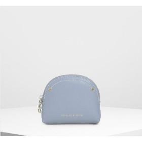 セミサークル ミニポーチ / Semicircle Mini Pouch (Blue)