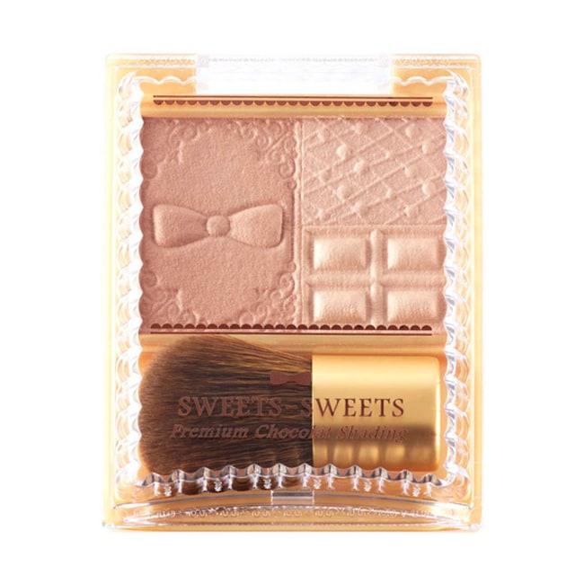 S.S巧克力莊園絲滑修容盤01