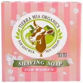ヤギの生ミルクのスキンセラピー, 女性用毛そり石鹸, 2.5 オンス