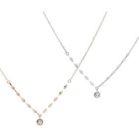 「DIAMOND RIPPLE /ダイヤモンドリップル」ネックレス/K10ゴールド