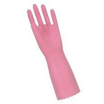 STBG202 トーワ ソフトエース 厚手手袋 M ピンク :_
