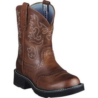 アリアト レディース ブーツ&レインブーツ シューズ Fatbaby Saddle Russet Rebel Full Grain Leather/Suede