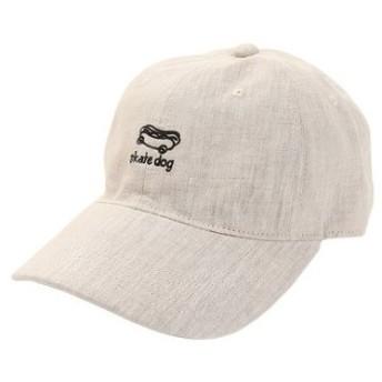 PGAC(PGAC) リネン刺繍キャップ skart dog 897PA9ST1762 NTL (Men's)