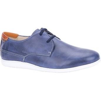 ピコリーノス メンズ スニーカー シューズ Faro Plain Toe Sneaker M9F-4119 Nautic/Arcilla Leather