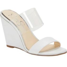 ジェシカシンプソン レディース サンダル シューズ Winsty Slip-On Wedge Bright White Nappa Leather/Leather
