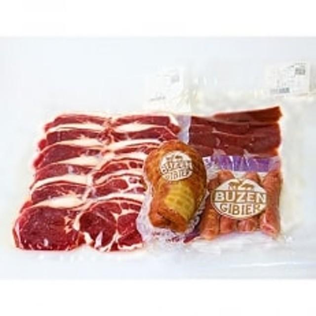 工場直送・鮮度良【熟成ジビエ肉 約700g】鹿・猪のセット