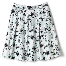 (Aylesbury(TALL SIZE)/アリスバーリー(TALLサイズ))ドローイング花柄スカート/レディース グリーン 送料無料