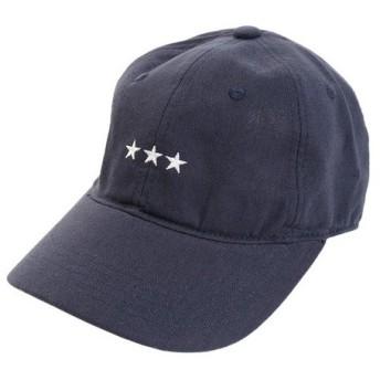 PGAC(PGAC) リネン刺繍キャップ 3Star 897PA9ST1741 NVY (Men's)