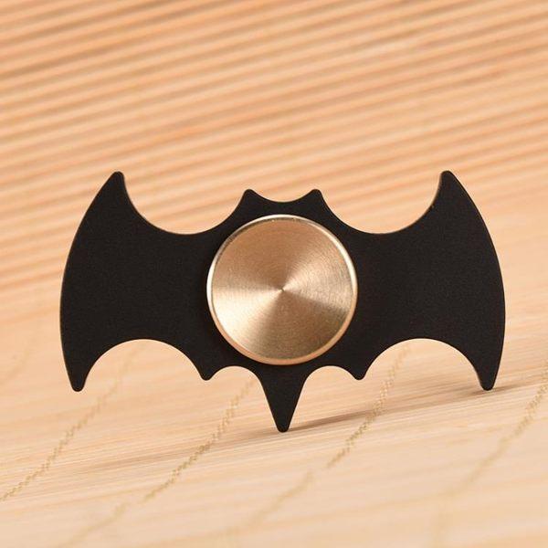 指尖陀螺DC漫威英雄黑色蝙蝠俠合金個性手指陀螺旋轉減壓玩具禮【全館免運】