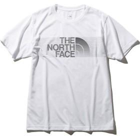THE NORTH FACE(ノースフェイス)メンズスポーツウェア 半袖機能Tシャツ S/S SWIFT LOGO TEE NT31984 メンズ W