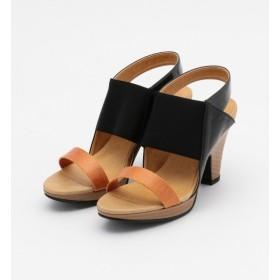 【アルカリ/alcali】 mie scarpe/太ベルトPERFECTサンダル
