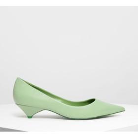 クラシック ポインテッドパンプス / Classic Pointed Pumps (Sage Green)
