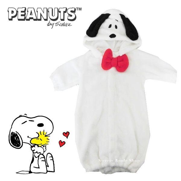 日本限定 SNOOPY 史努比 嬰幼兒 / 兒童 2WAY 連帽連身衣 / 連身裙