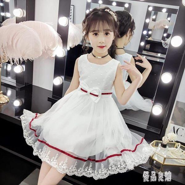 兒童女童連衣裙夏裝2019新款3小孩4短袖5洋氣夏天公主裙子6歲女孩