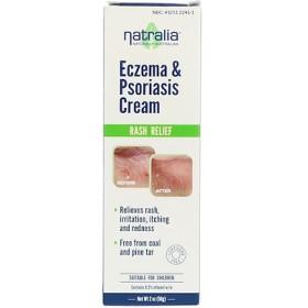 ナトラリア, 湿疹&乾癬用クリーム , 2 oz (56 g)