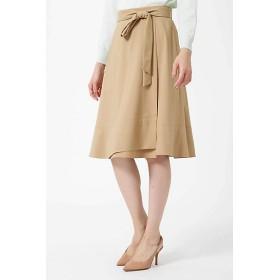 【SALE(三越)】<ナチュラル ビューティー/NATURAL BEAUTY> 裾フレアラップスカート(0189120109) ベージュ 【三越・伊勢丹/公式】