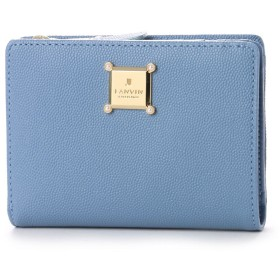 ランバン コレクション LANVIN COLLECTION ローム 2つ折り財布 (ブルー)