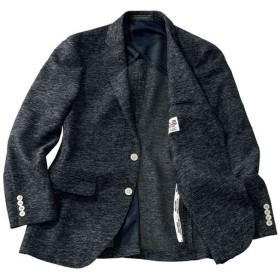 【メンズ】 軽くて涼しい!からみ織りジャケット メンズビジネス - セシール ■カラー:ブラック系 ■サイズ:AB8(185),A7(180)