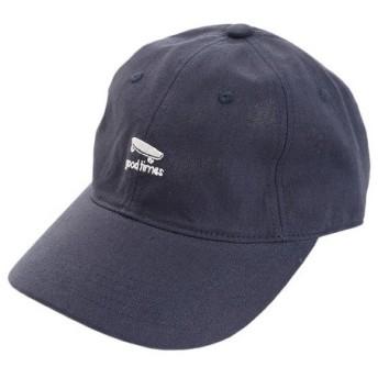 PGAC(PGAC) リネン刺繍キャップ goodtimes 897PA9ST1744 NVY (Men's)