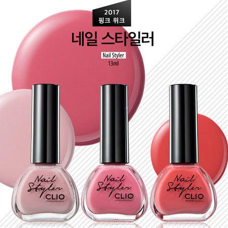 韓國 CLIO 珂莉奧 2017春夏仙粉香氛指甲油 13ml 指甲油 裸色 粉色 亮粉