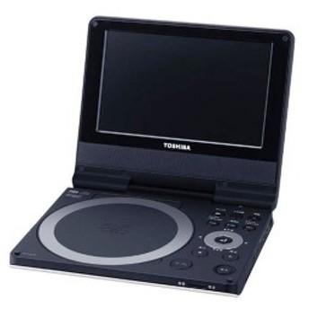 TOSHIBA ポータロウ 7V型ワイド液晶 ポータブルDVDプレーヤー ワンセグ録画対応モデル SD-P75DTW シェルホワイト 中古 良品