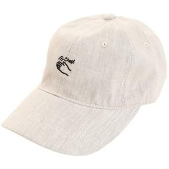 PGAC(PGAC) リネン刺繍キャップ Chop 897PA9ST1753 NTL (Men's)