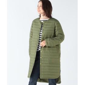 ビームス ウィメン Traditional Weatherwear / ARKLEY ロングインナーダウン レディース KHAKI 36 【BEAMS WOMEN】