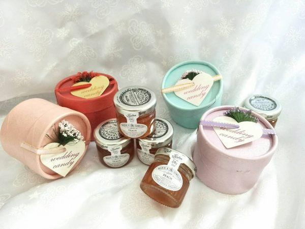 新品$40/個 英國進口迷你小果醬(10個)婚禮小物 棉花糖 喜糖盒果醬送客禮 ht-0139