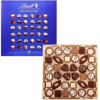 リンツ Lindt チョコレート チョコ スイーツ ギフト ミニプラリネ 180g(グリーン・ピンク・ブルー)