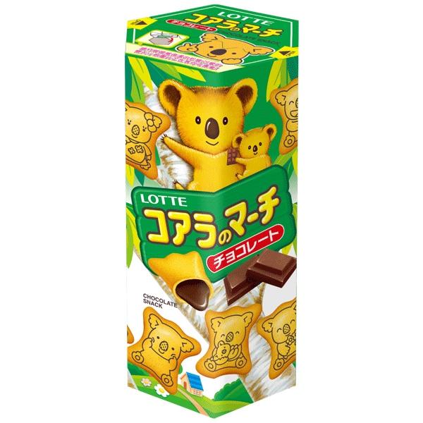 樂天小熊餅乾-巧克力
