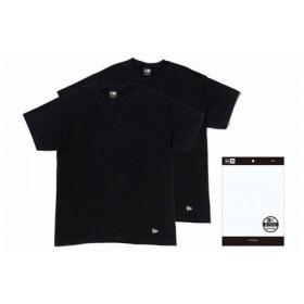 ニューエラ(NEW ERA) 2-Pack Tee ブラック 11229178 メンズ Tシャツ 半袖 (Men's)