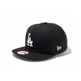 ニューエラ(NEW ERA) 9FIFTY ロサンゼルス・ドジャース ブラック×ホワイト 11308479 (Men's)
