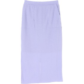 【5,000円以上お買物で送料無料】ワッフルタイトスカート