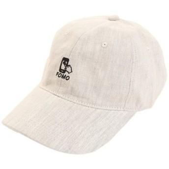 PGAC(PGAC) リネン刺繍キャップ FOMO 897PA9ST1754 NTL (Men's)
