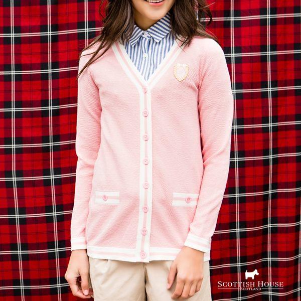 適合微涼天氣穿著的針織外套n撞色設計 視覺層次感豐富n香奈兒風 展現高貴氣息