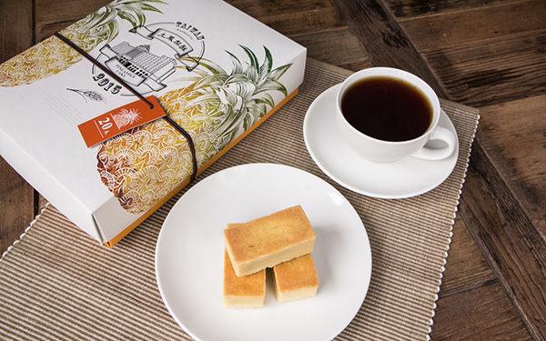 獨特穀香,酥鬆餅皮,香甜飽滿鳳梨餡,一顆顆金黃色小金磚,象徵好運旺來n★不添加香料、色素、防腐劑