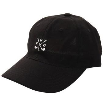 PGAC(PGAC) リネン刺繍キャップ GOLF 897PA9ST1742 BLK (Men's)
