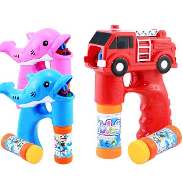 泡泡機泡泡槍音樂泡泡機兒童全自動電動吹泡泡器戶外玩具泡泡水棒補充液 維科特3C