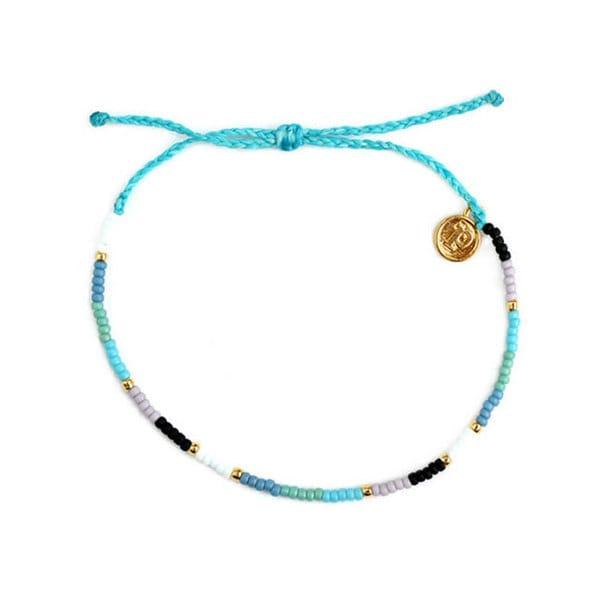 PuraVida美國手工SEED BEAD 小彩珠系列 來自海洋 蠟線手環