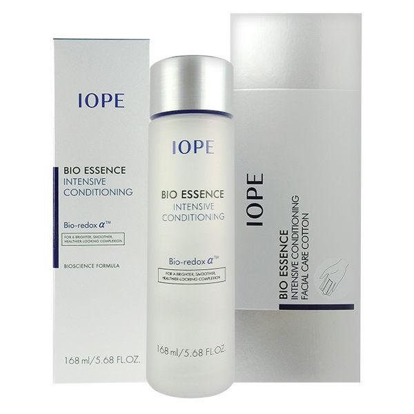 ●魅力十足● 韓國 IOPE Bio Essence 青春活顏菁粹 神仙水 168ml 附贈IOPE專用化妝棉一盒