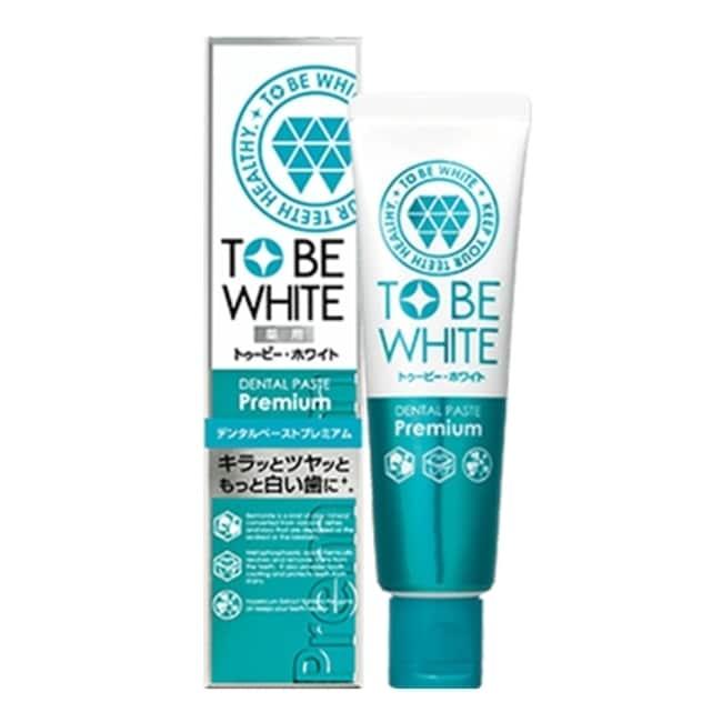 TO BE WHITE 2倍瞬白精華清新牙膏60g